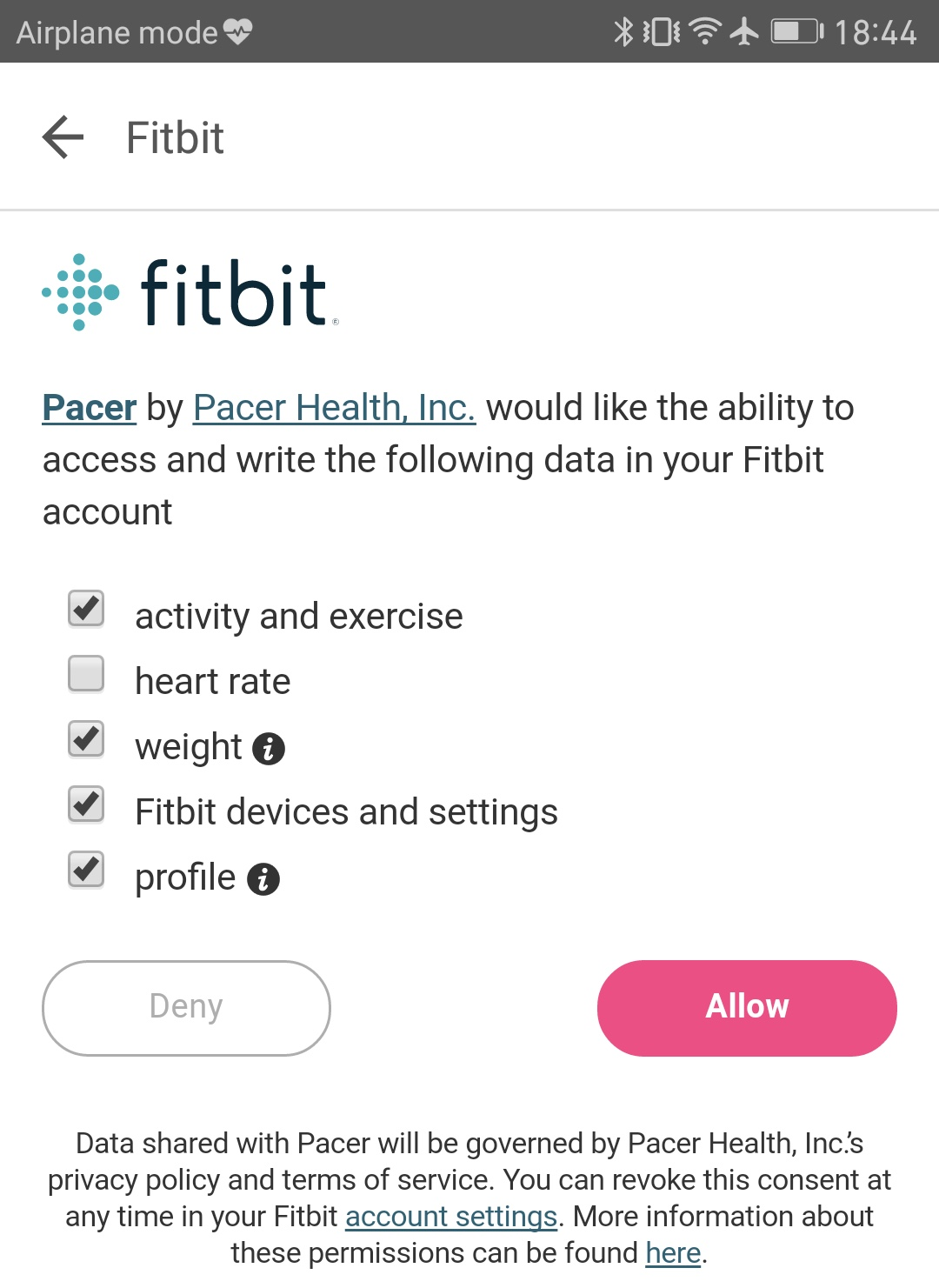 How do I sync my Fitbit with Pacer? – Pacer Health